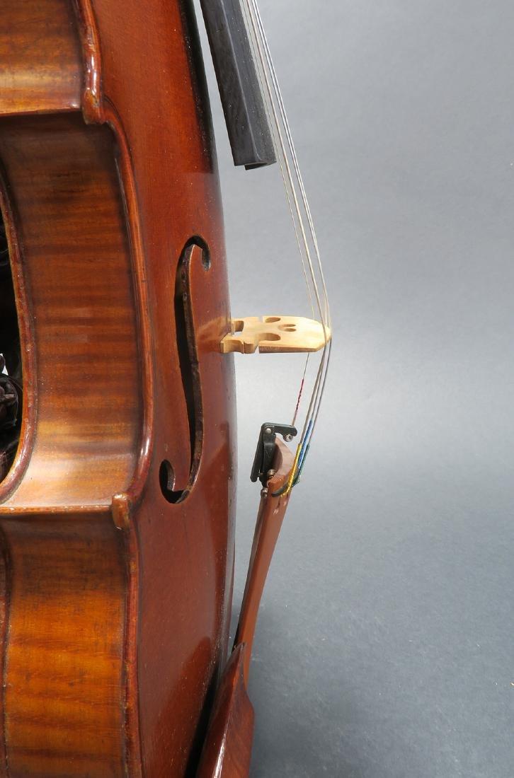 """19th C. French Mirecourt Aubert"""" Violin - 8"""