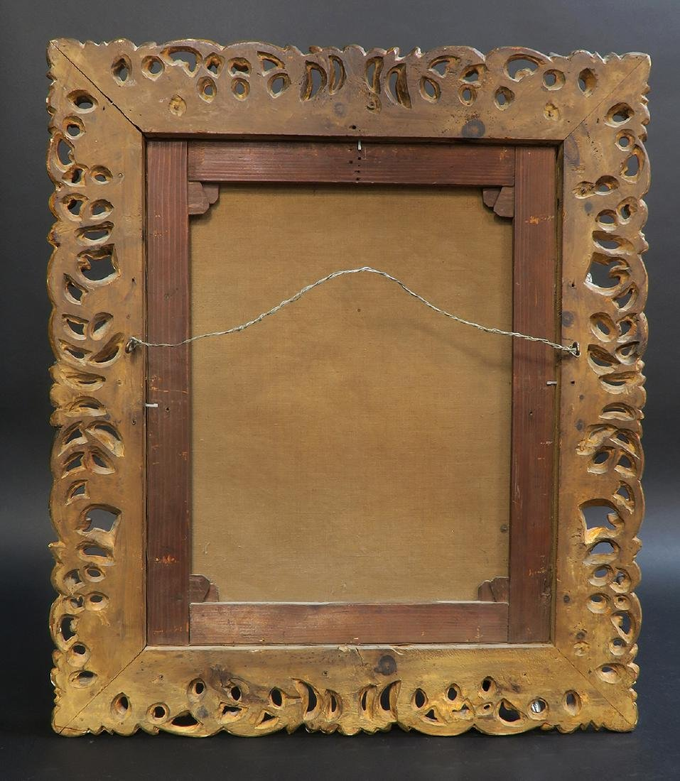 18th/19th C. French School Oil Painting Portrait - 4