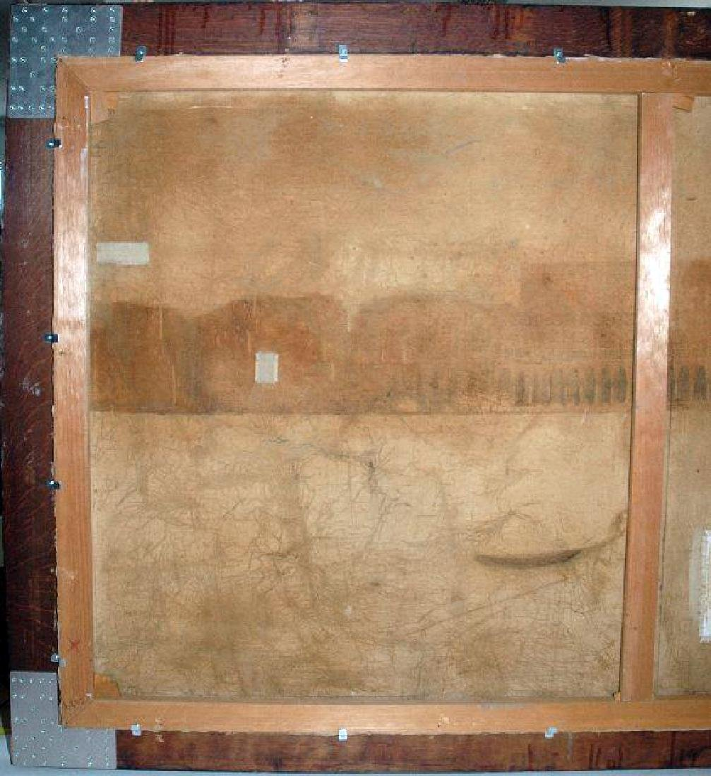 """Grand Size Painting 11'x4.25' By """"Alver Regli"""" - 4"""