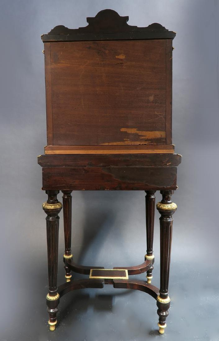 19th C. Meissen Style Plaque mounted Ladies Desk - 8