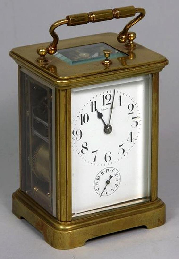 Tiffany & Co. carriage repeater clock - 2