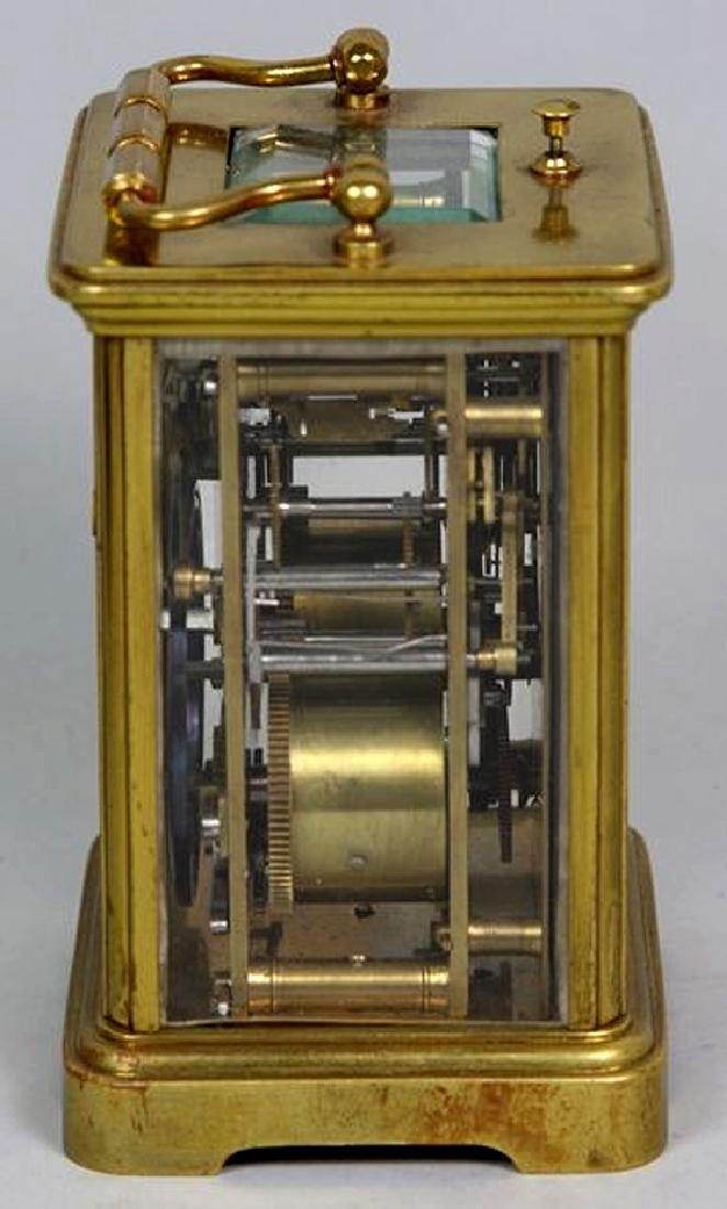 Tiffany & Co. carriage repeater clock - 3