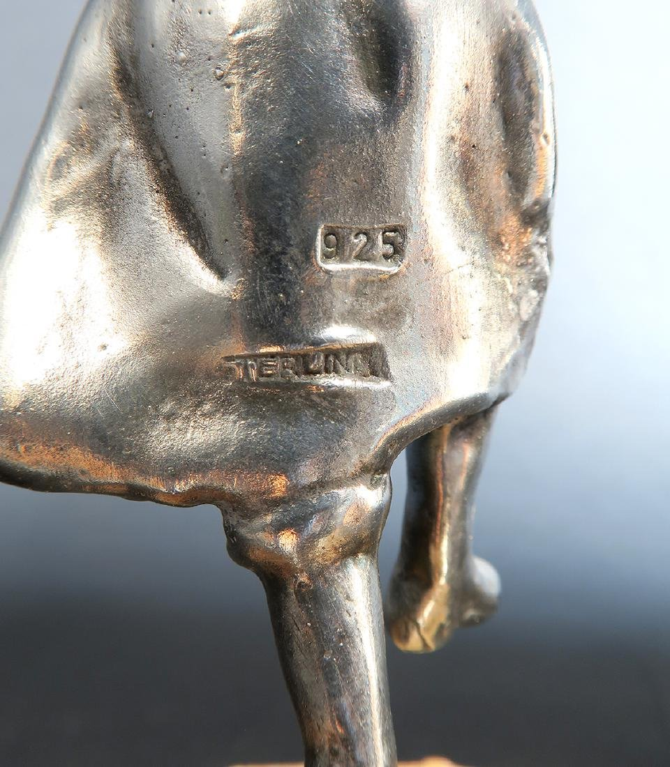 Sterling Silver Figurine of a Rabbi - 5