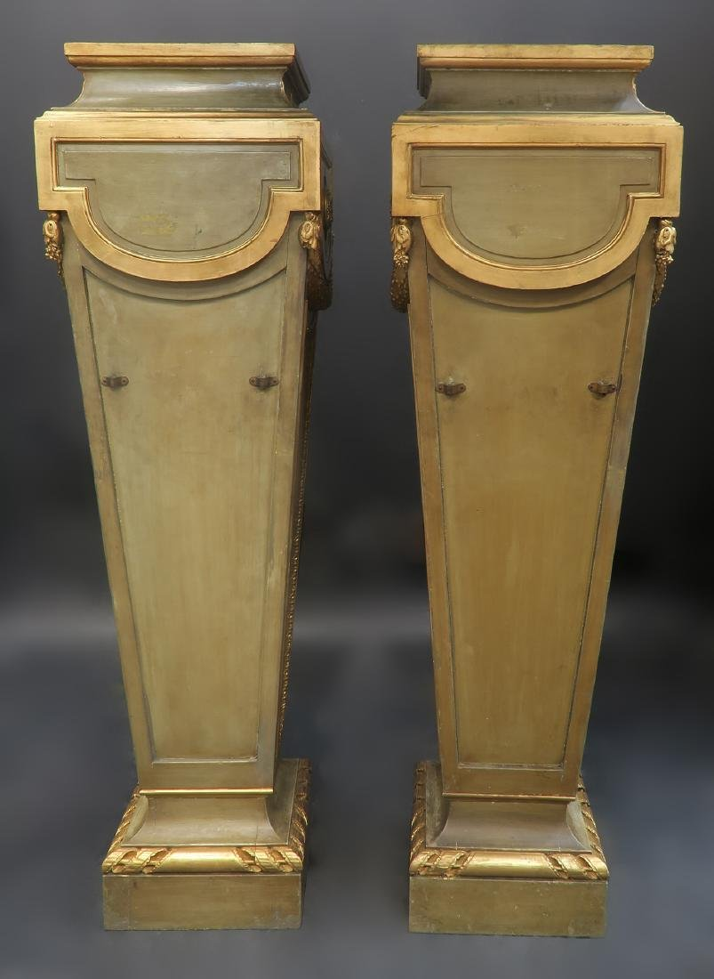 Very Fine Pair of French Louis XVI Style Pedestals - 4