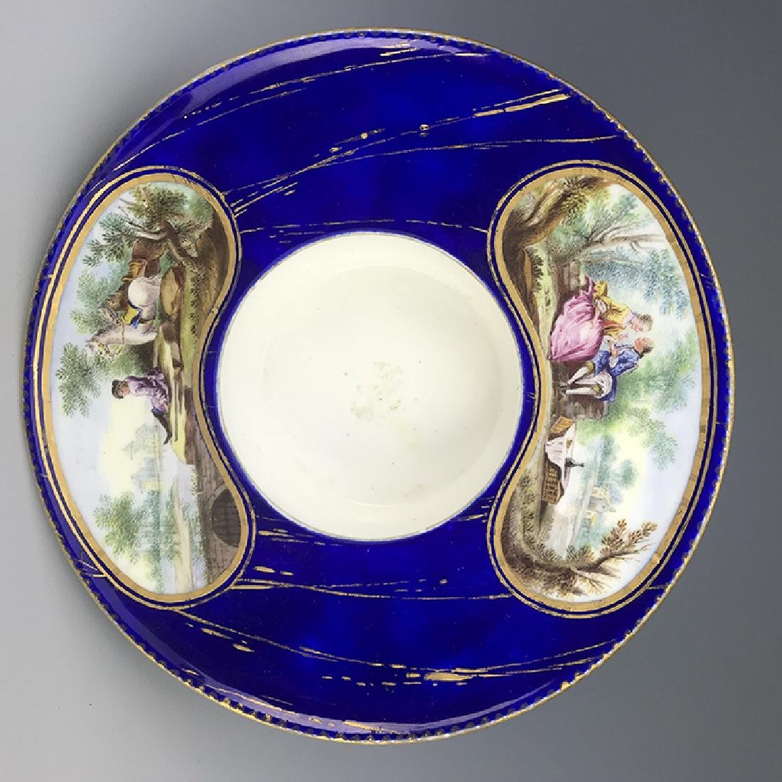18th C. French Porcelain Sevres Cup & Saucer - 3