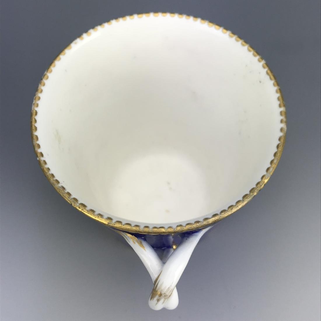 18th C. French Porcelain Sevres Cup & Saucer - 7