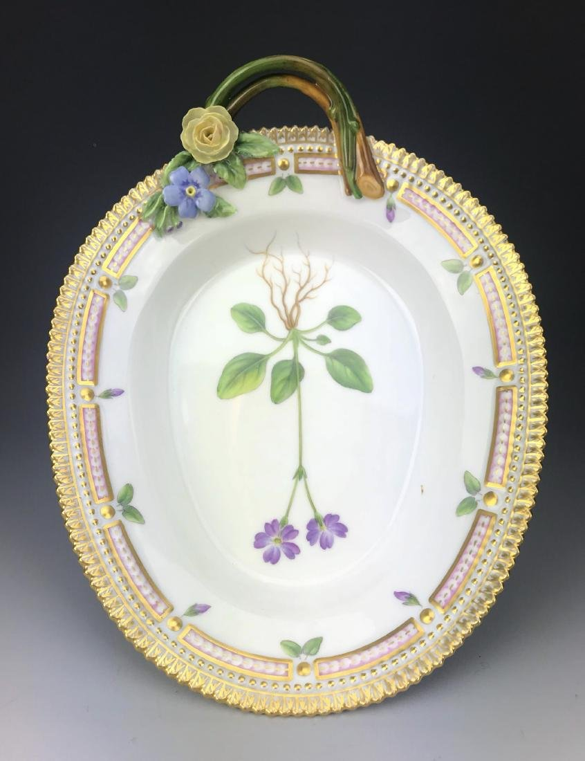 Royal Copenhagen Flora Danica Reticulated Plate - 2