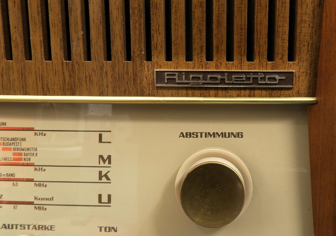 German Nordmende Rigoletto Multi-Band Tubed Radio - 3