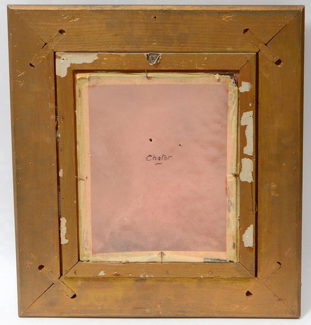 LIMOGES ENAMEL ON COPPER PLAQUE SIGNED - 4