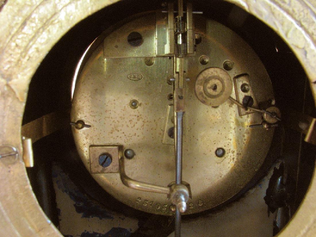 Antique Gilt Ormolu and Sevres Clock - 10