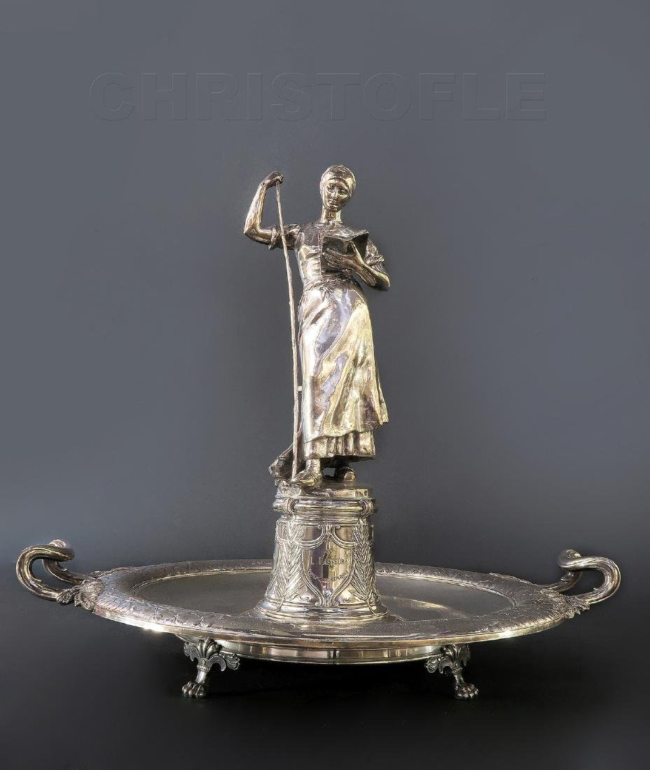 "Important ""CHRISTOFLE"" Sterling Silver Centerpiece"