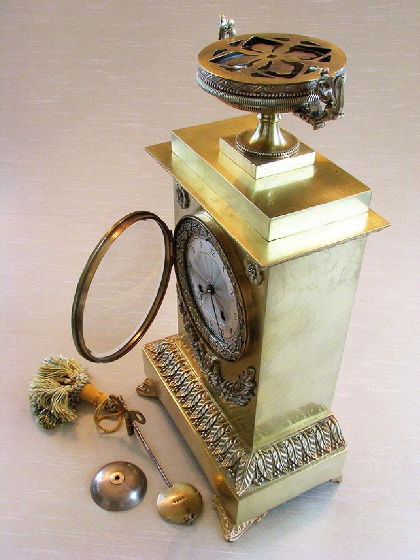 Very elegant French Empire Style Clock - 4