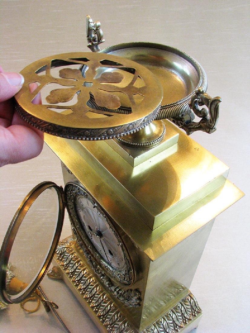 Very elegant French Empire Style Clock - 5