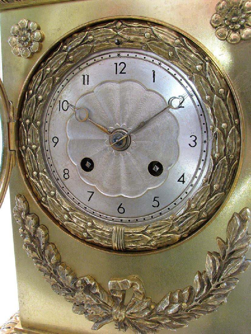 Very elegant French Empire Style Clock - 6