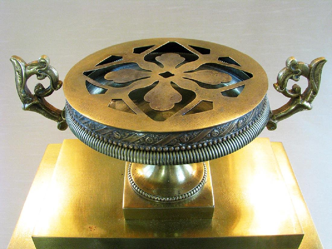 Very elegant French Empire Style Clock - 7