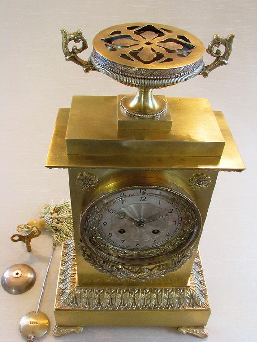 Very elegant French Empire Style Clock - 8