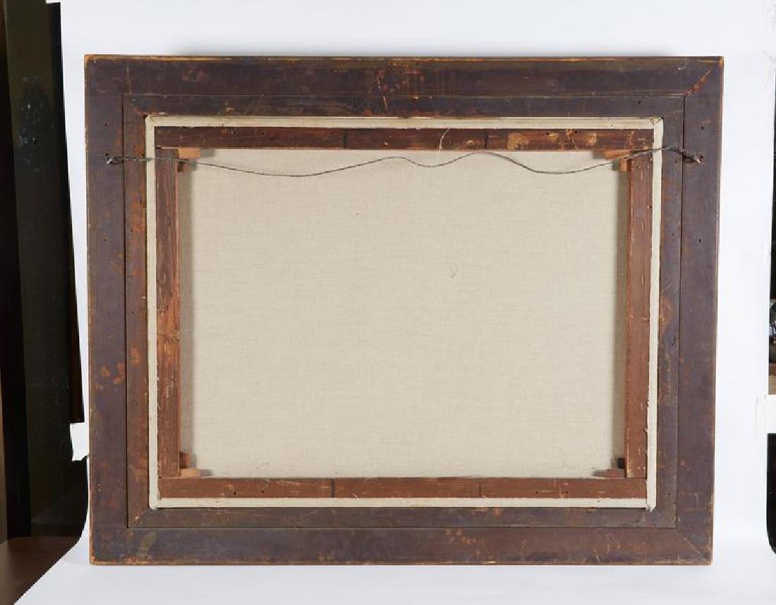 "Guglielmo Zocchi ""Harem Scene"" Orientalist Oil Painting - 7"