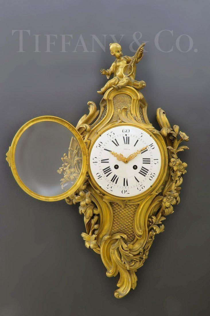V. Fine 19th C. Tiffany & Co. Chinoiserie Cartel Clock - 2
