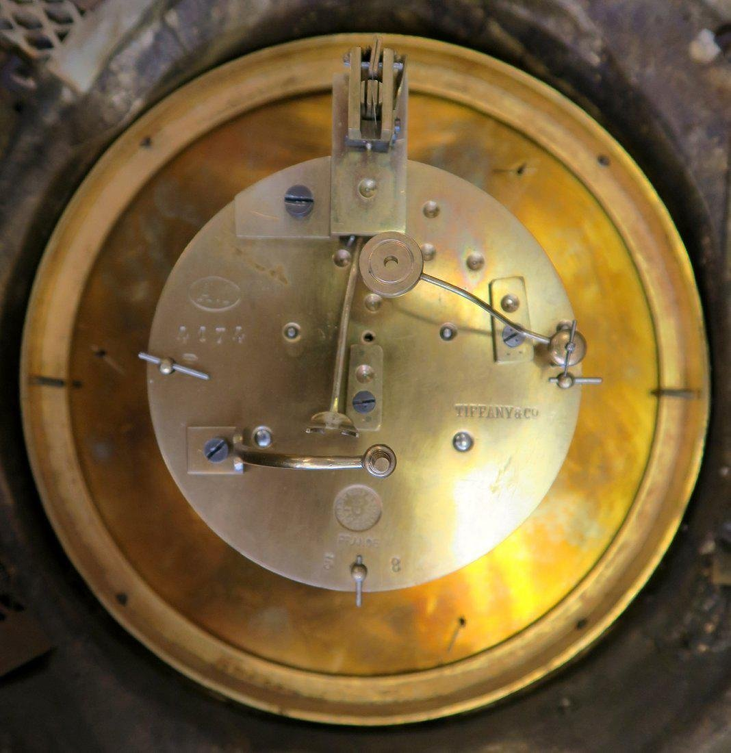 V. Fine 19th C. Tiffany & Co. Chinoiserie Cartel Clock - 4