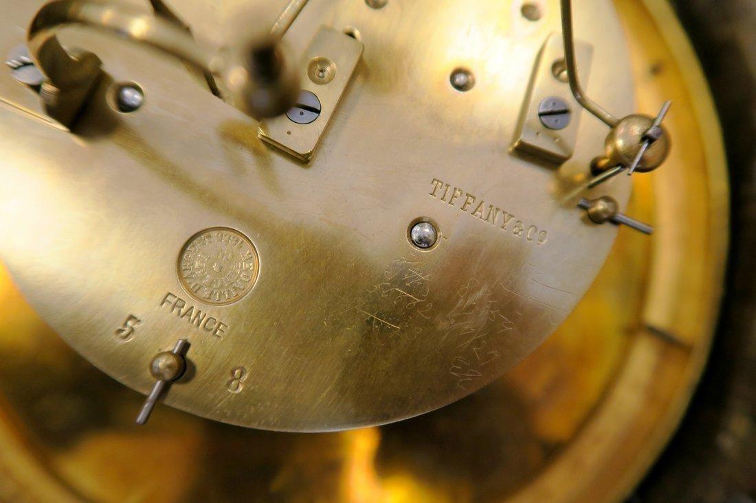 V. Fine 19th C. Tiffany & Co. Chinoiserie Cartel Clock - 5