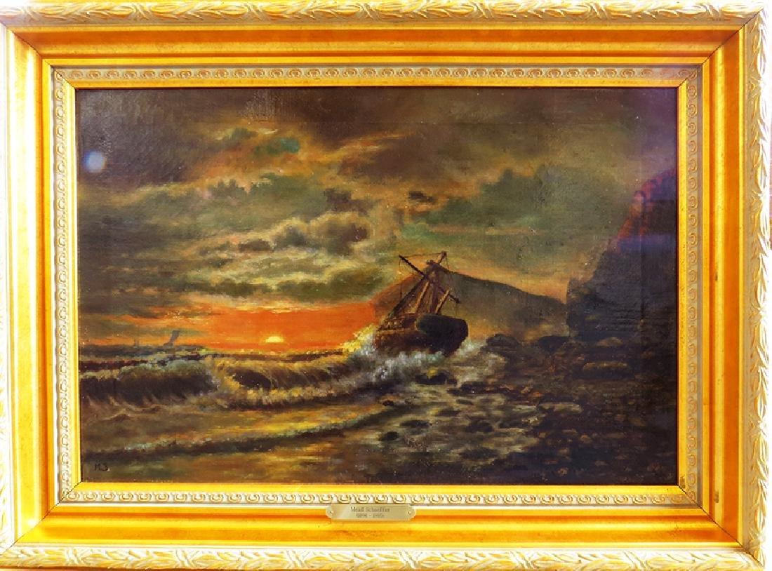 "Sensational ""Seascape"" Painting By ""Mead Schaeffer"""