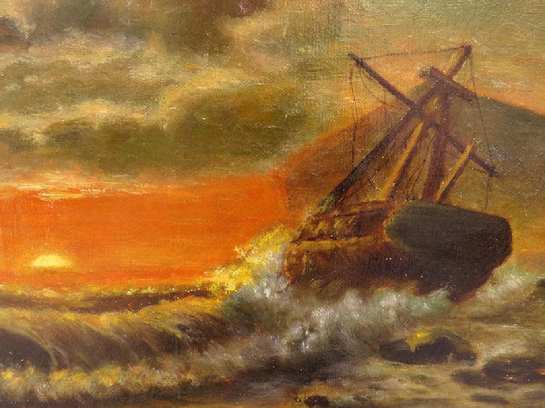 "Sensational ""Seascape"" Painting By ""Mead Schaeffer"" - 3"