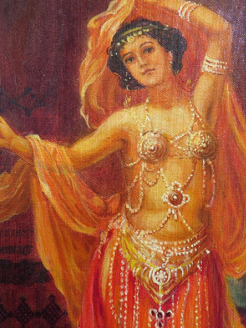 """Exotic Dancers"""" Oil on Canvas By """"Arthur Zakarian - 2"""