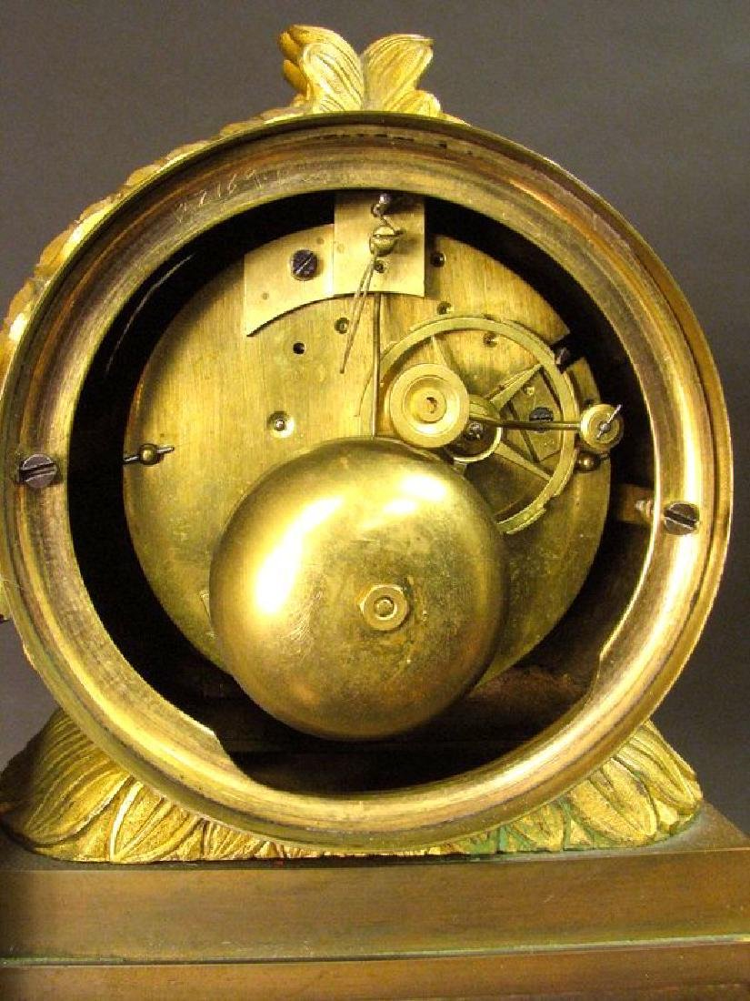 Magnificent 19th C. Large Empire Figural Clock - 9