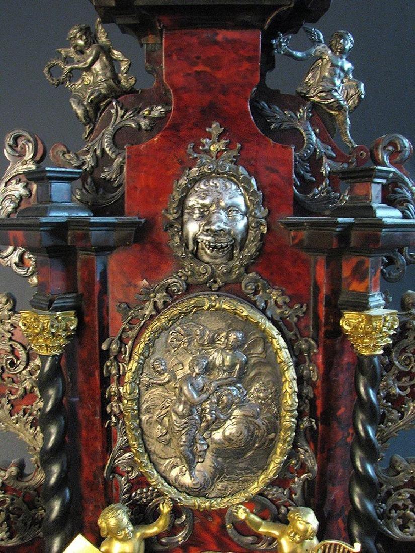 A Palatial German Case, Clock Late 17th C. 39'' tall - 4
