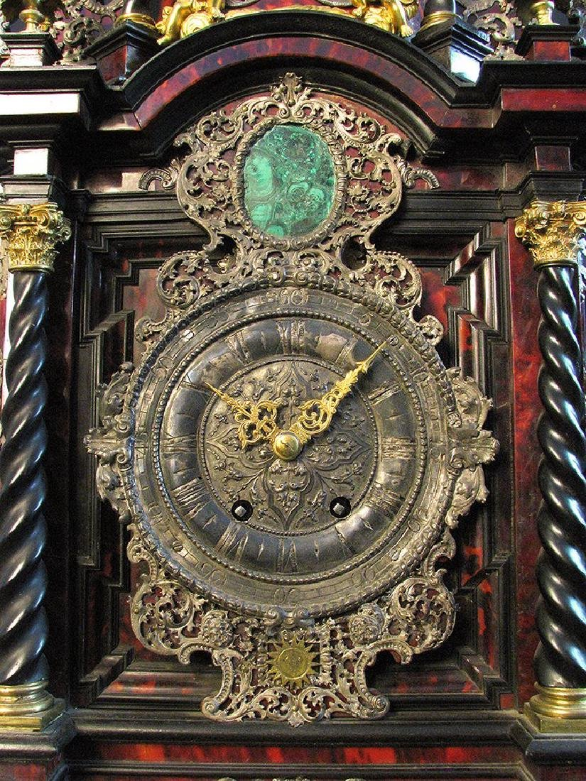 A Palatial German Case, Clock Late 17th C. 39'' tall - 6