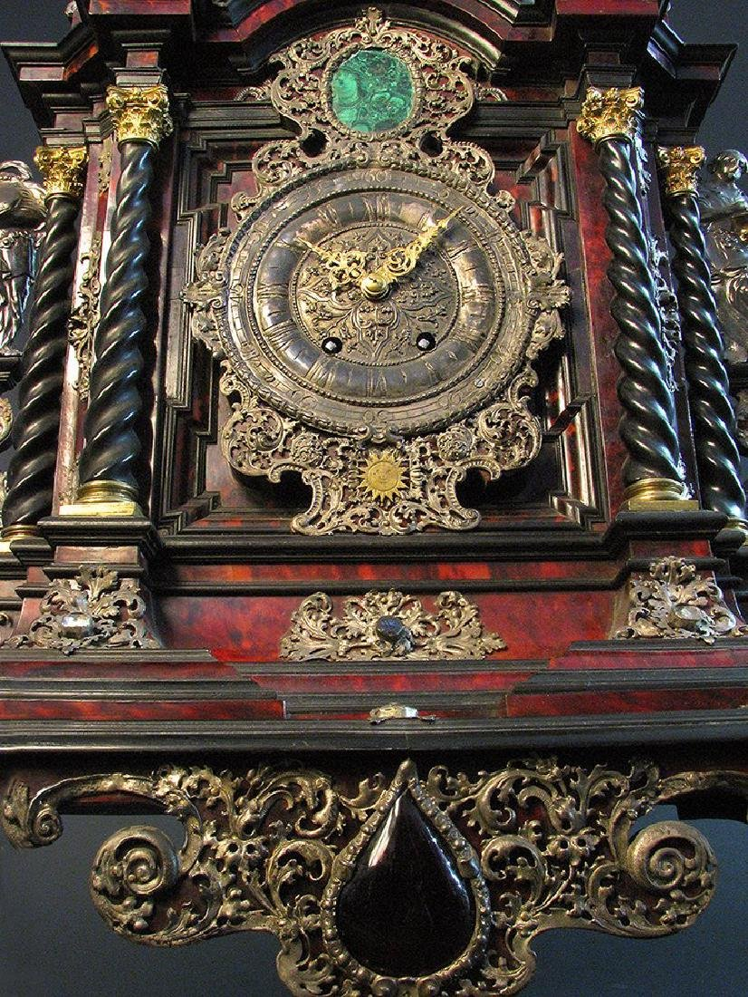 A Palatial German Case, Clock Late 17th C. 39'' tall - 8