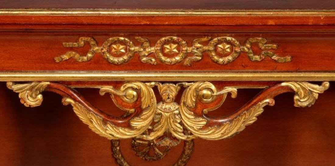 Large Empire Style Bronze Mounted Mahogany Console - 2