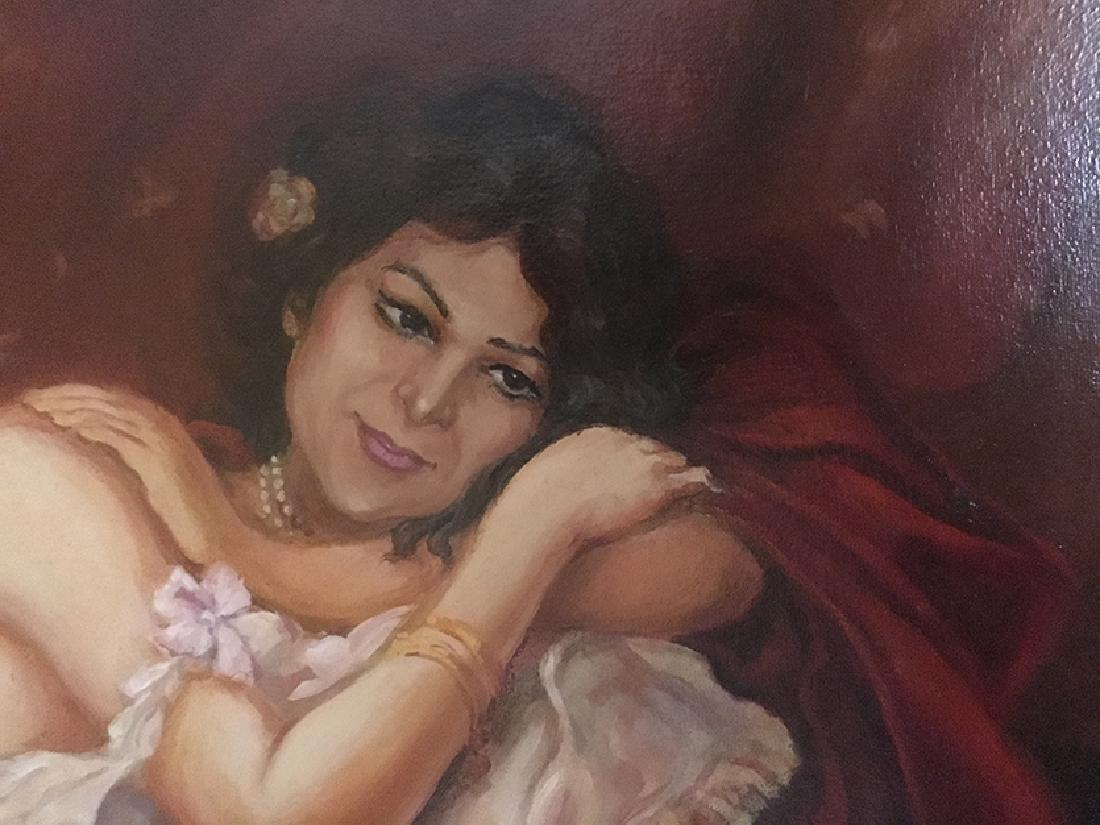 """The Boudoir"""" Oil on Canvas By """"Arthur Zakarian - 2"""