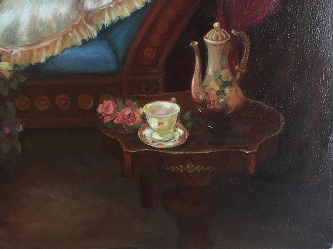 """The Boudoir"""" Oil on Canvas By """"Arthur Zakarian - 3"""