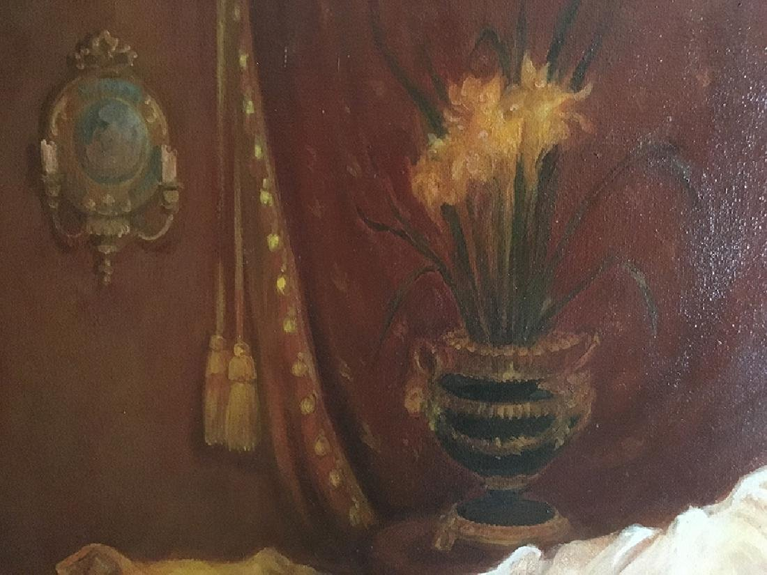 """The Boudoir"""" Oil on Canvas By """"Arthur Zakarian - 4"""