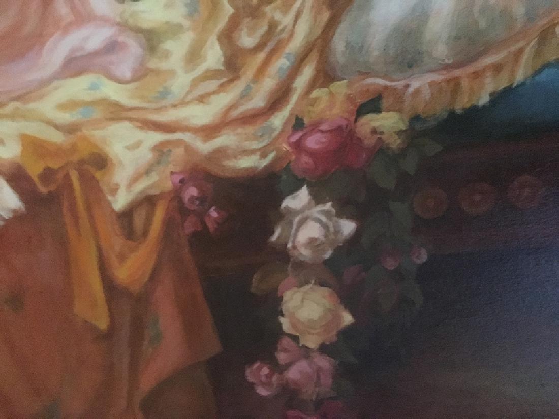 """The Boudoir"""" Oil on Canvas By """"Arthur Zakarian - 5"""