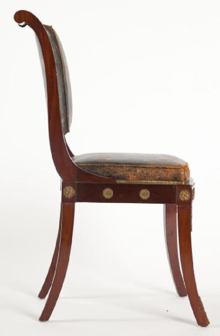 Pair of French Empire Side Chairs - 5
