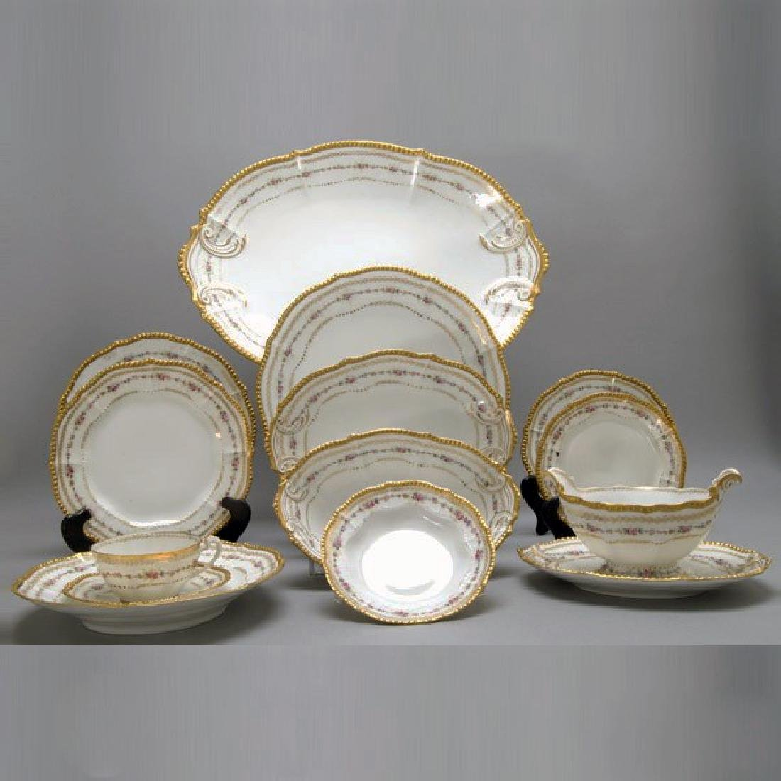 """Higgins and Seiter"" Rare Limoges partial set"