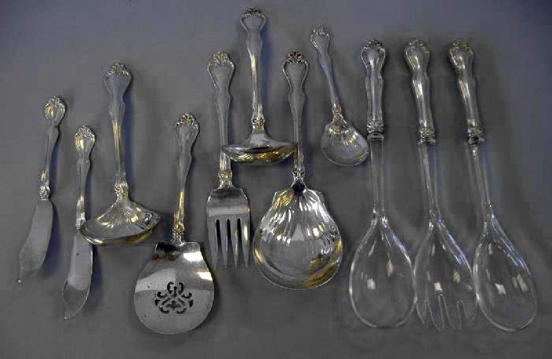 Westmoreland Sterling Serving Pieces, Martha Washington