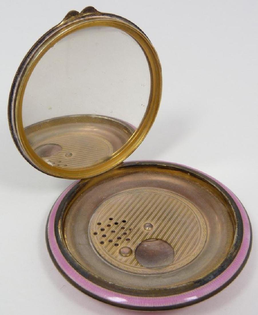 German sterling silver powder box - 2