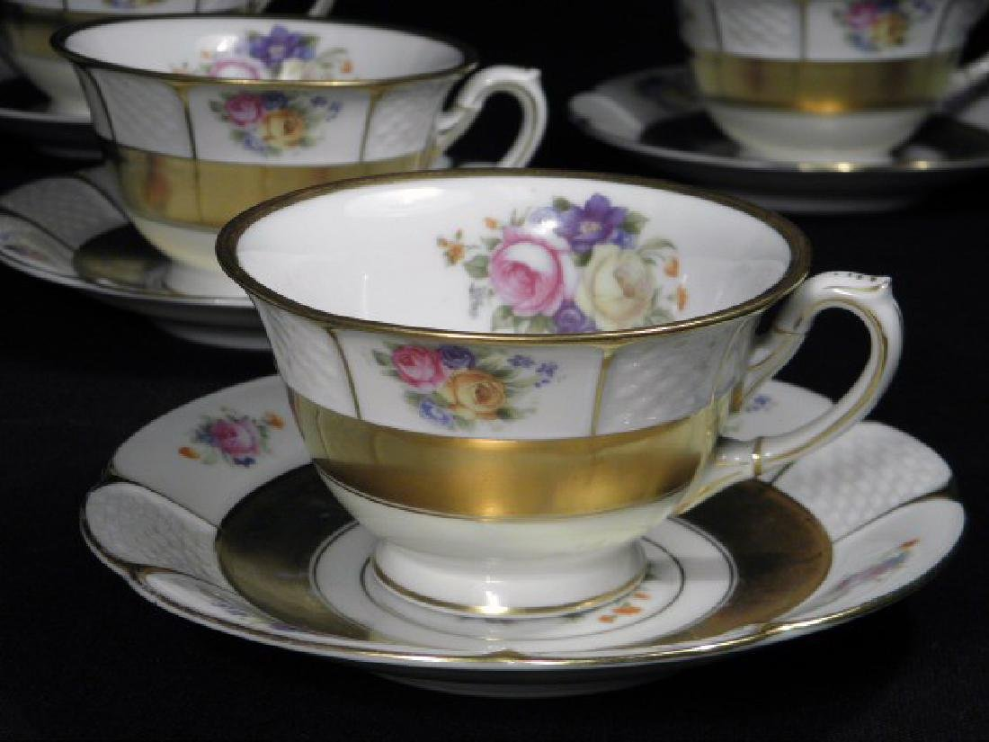 Rosenthal Bavarian porcelain cups and saucers set - 2