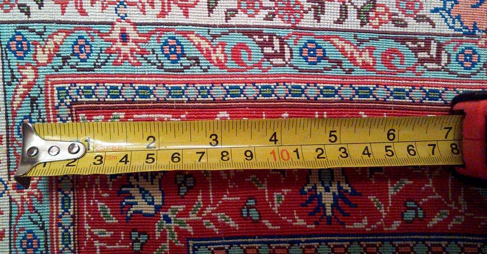 Fine 100% Silk Turkish Rug Signed Hereke - 2