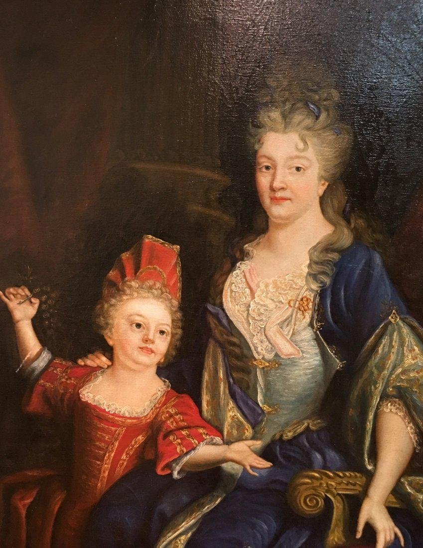 19th, century Royal mother & Daughter signed by artist - 2