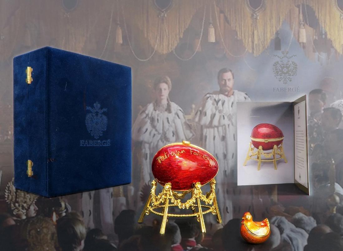 House of Faberge Kelkh Hen Egg