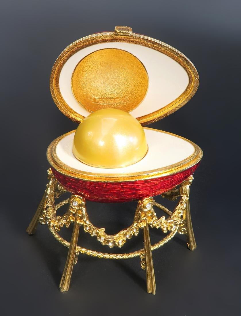 House of Faberge Kelkh Hen Egg - 4