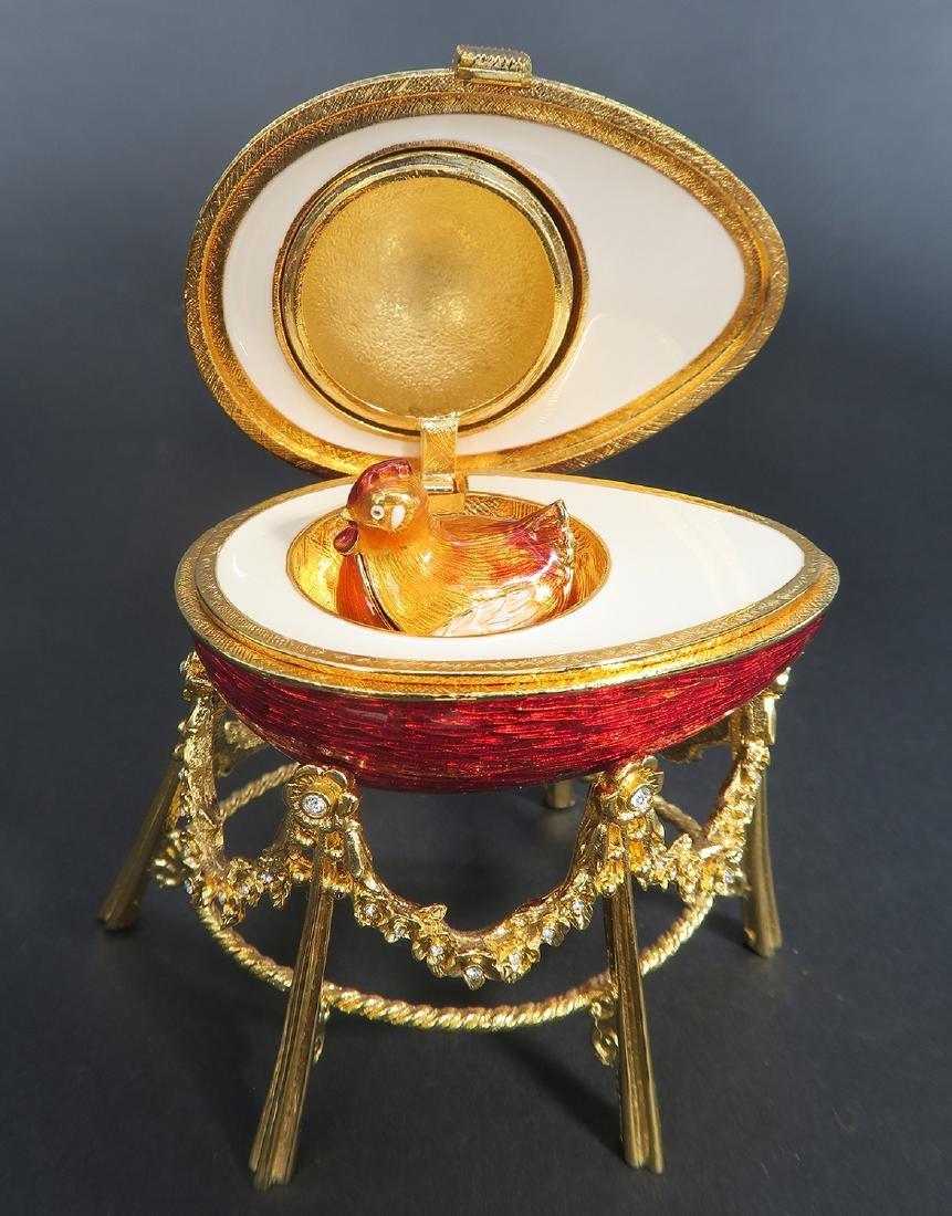 House of Faberge Kelkh Hen Egg - 5