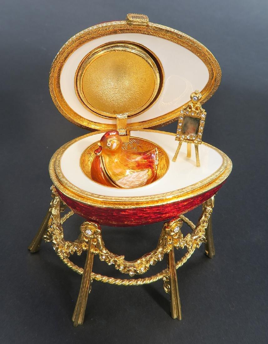 House of Faberge Kelkh Hen Egg - 6