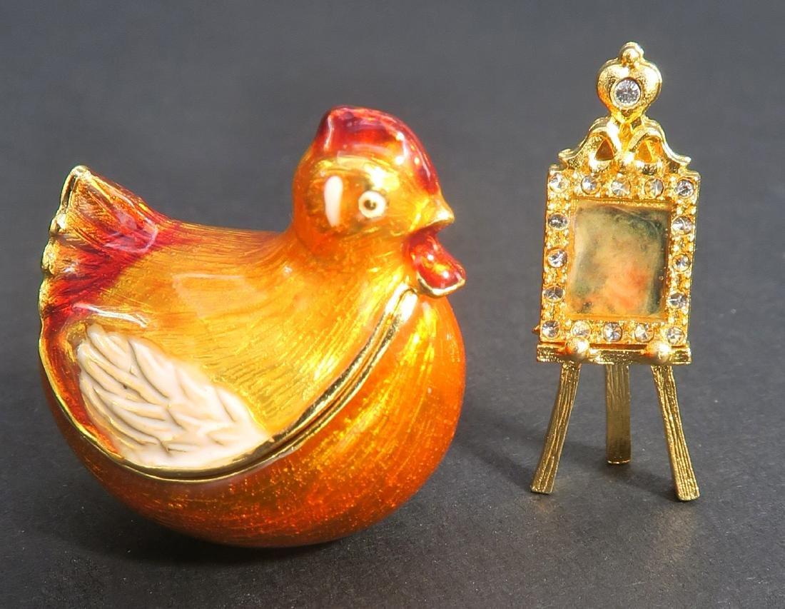 House of Faberge Kelkh Hen Egg - 7
