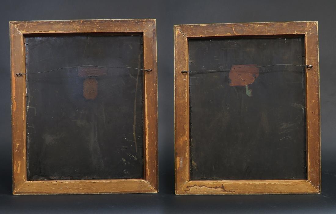 Pair Of 19th C. Orientalist Oil On Copper Paintings - 5