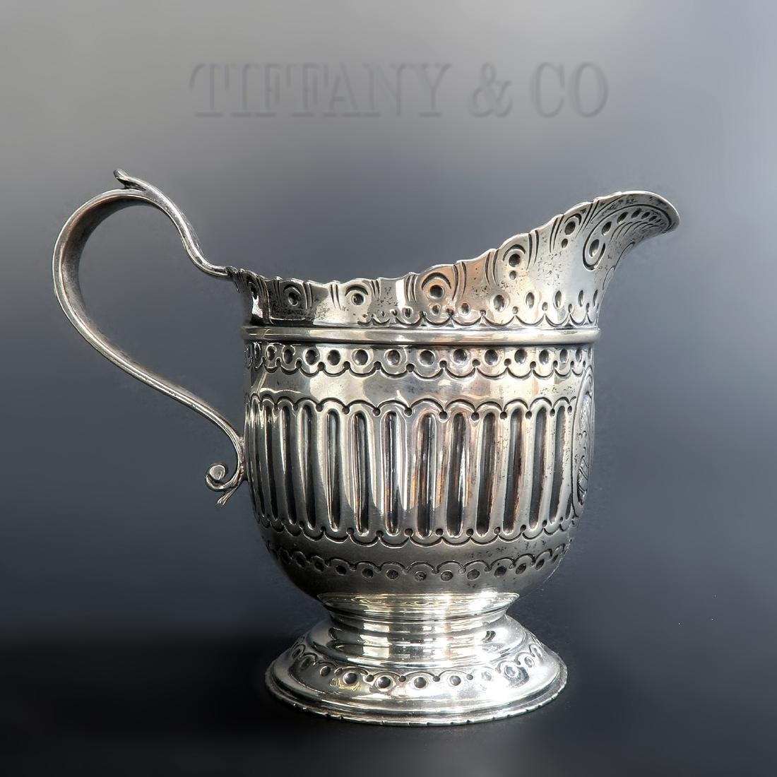 Limited Edition Tiffany Silver Sterling Creamer